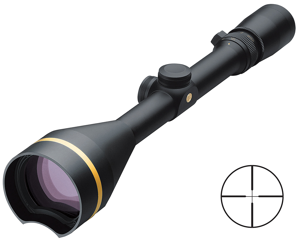 Leupold 66680 VX-3 3.5-10x 56mm 29.9 ft-11 ft@100yds FOV 1″ Tube Dia Blk Dplx