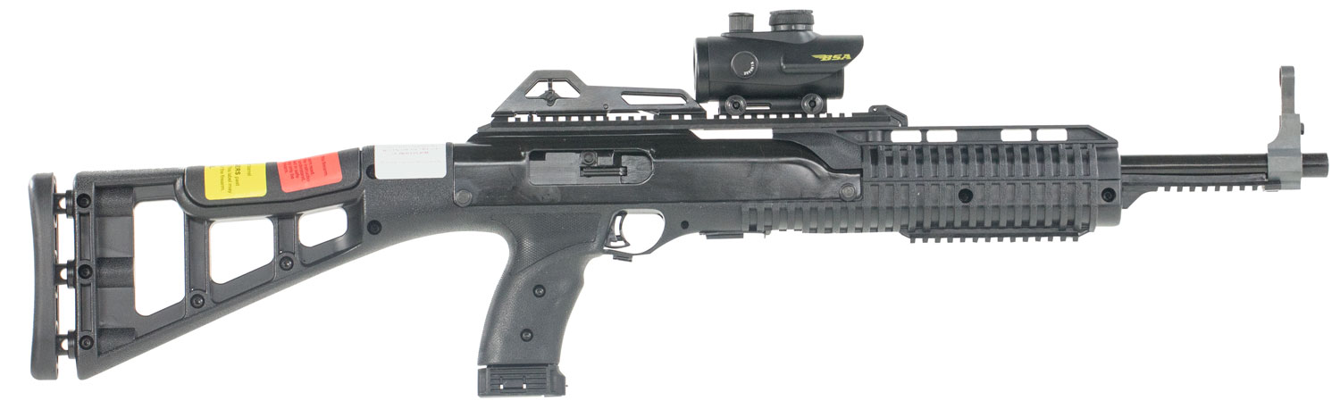 "Hi-Point Carbine 9mm 16.5"" Barrel 10RD Target Stock w/Red Dot"