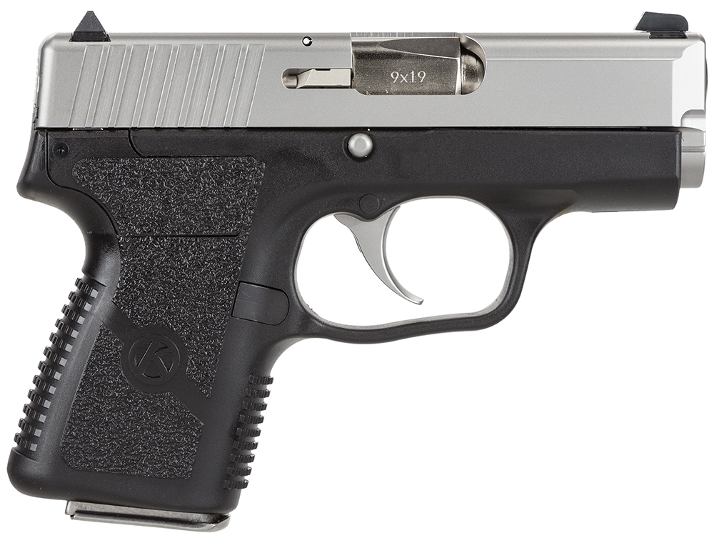 "Kahr Arms PM9193 PM9 9mm 3"" 6+1, 7+1 (Grip Extension) Blk Syn Grip Blk Poly/SS"
