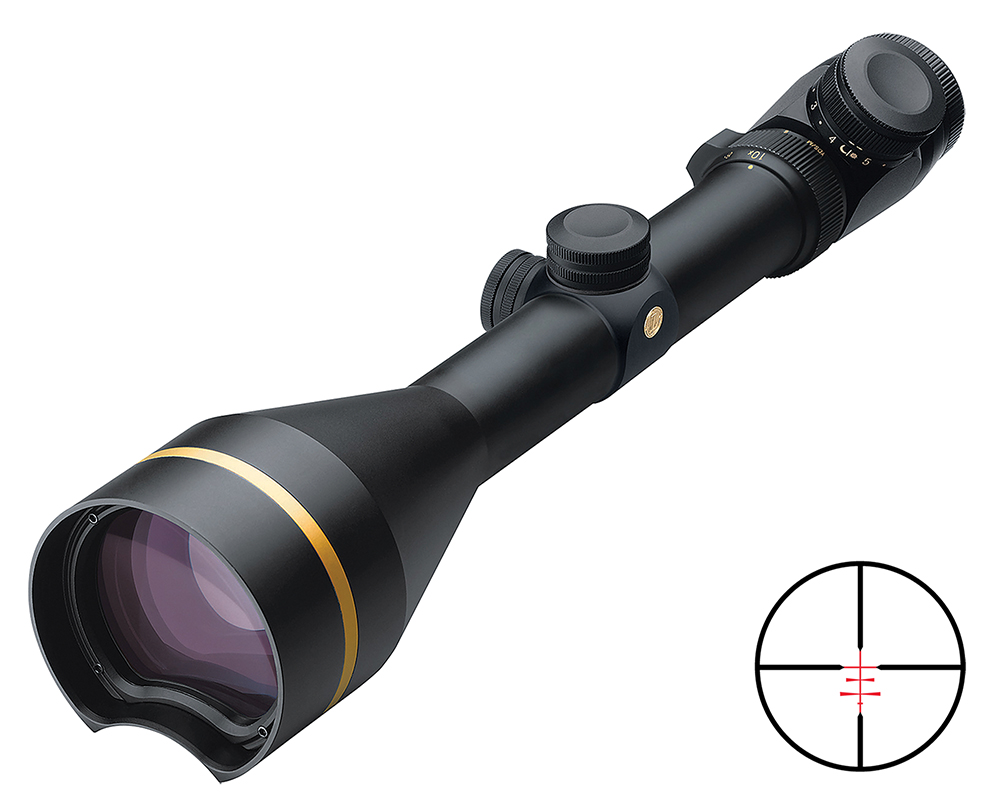 Leupold 67860 VX-3 3.5-10x 56mm Obj 29.9 ft-11ft@100yds FOV 30mm Tube Dia Black