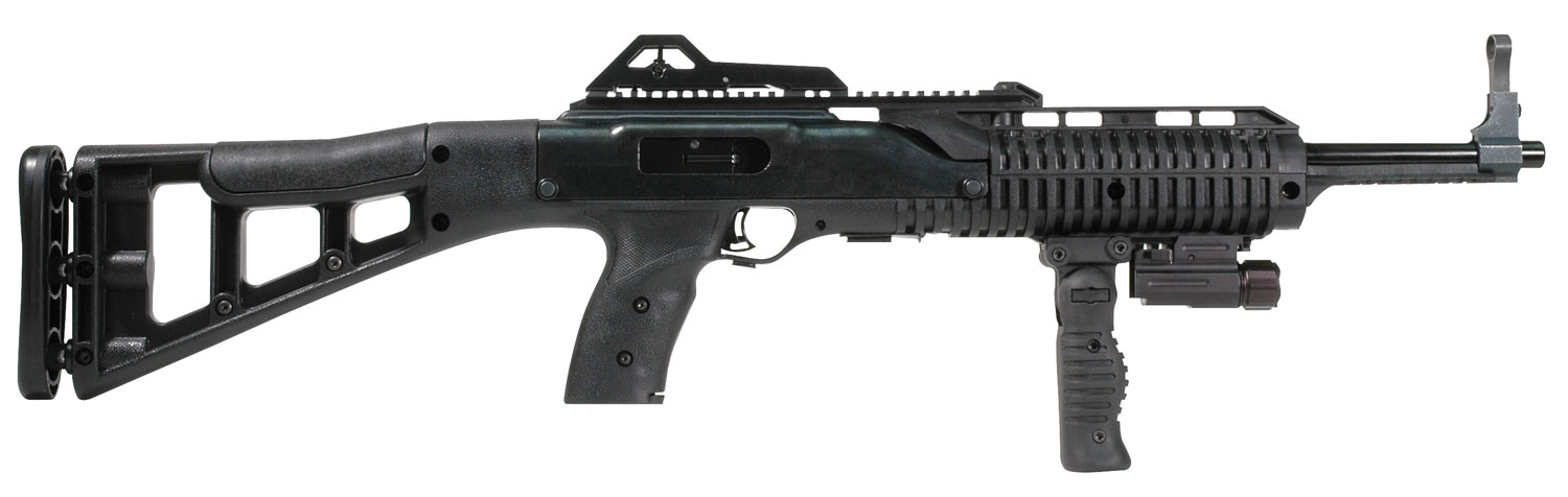 "Hi-Point Carbine 9mm 16.5"" Barrel 10RD Target Stock with Forward Folding Grip"