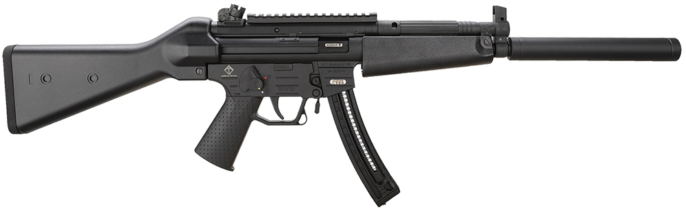 "GSG 522CLB22 GSG-522 Ltwt Carbine SA 22LR 16.25"" 22+1 Black A2 Stock Blued"