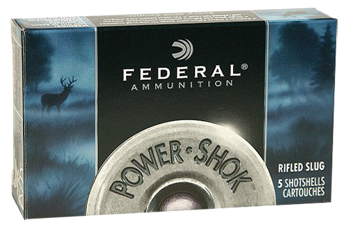 Federal F127RS Standard Power-Shok Rifled Slug 12 ga 2.75