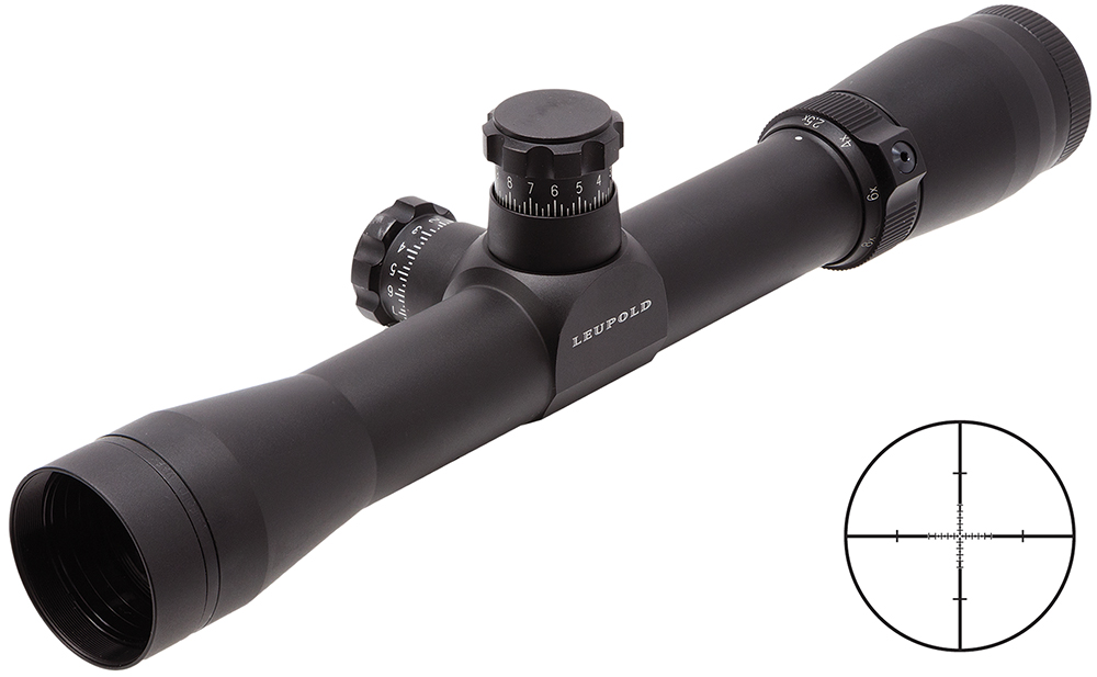 Leupold 60210  2.5-8x 36mm Obj 35-13.6ft @ 100yds FOV 30mm Tube Blk Tact Reticle