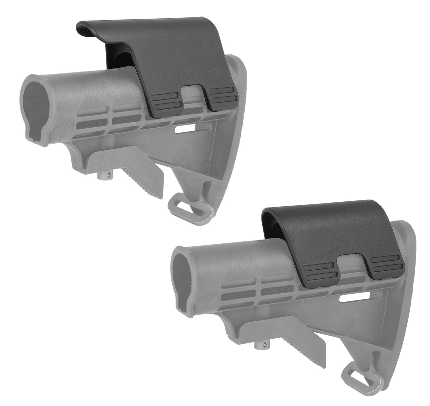 Command Arms CP Cheek Rest Set CP1/CP2 Polymer Black