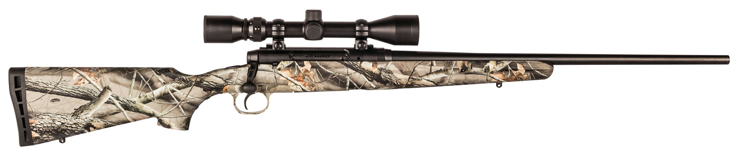 Savage 19245 Axis w/Scope Bolt 243 Winchester 22