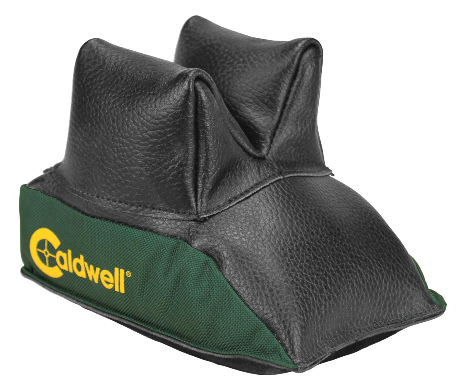 Past 226-645 DeadShot Rear Shooting Bag Black Leather Top/Green Poly Base