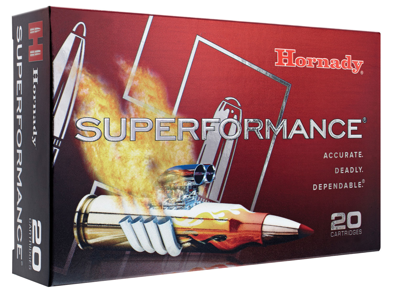 Hornady 82231 Superformance 300 Ruger Compact Magnum SST 150 GR 20Box/10Case