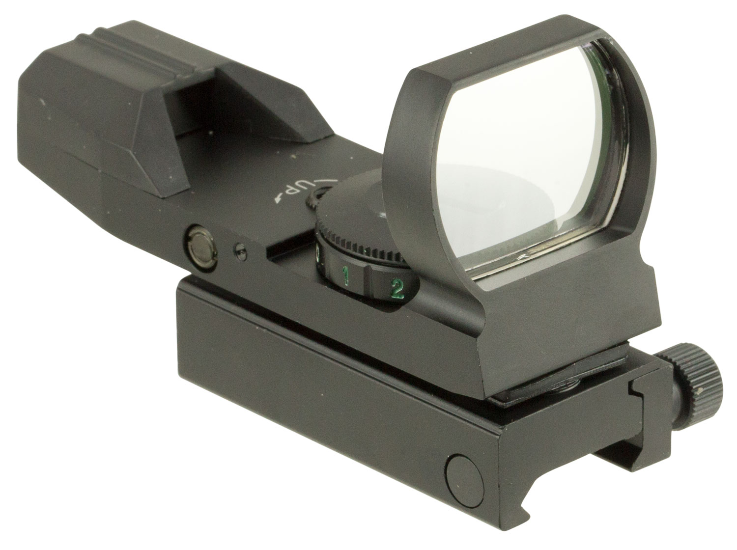Truglo TG8370B Red Dot 1x 34mm Obj Unlimited Eye Relief 5 MOA Black