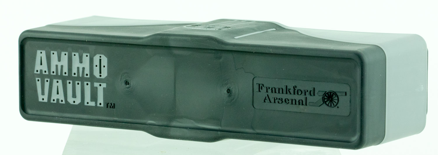Frankford Arsenal 912610 Ammo Vault RLG-20 Ammuntion Box Latge 20rd Plastic Gray/Black