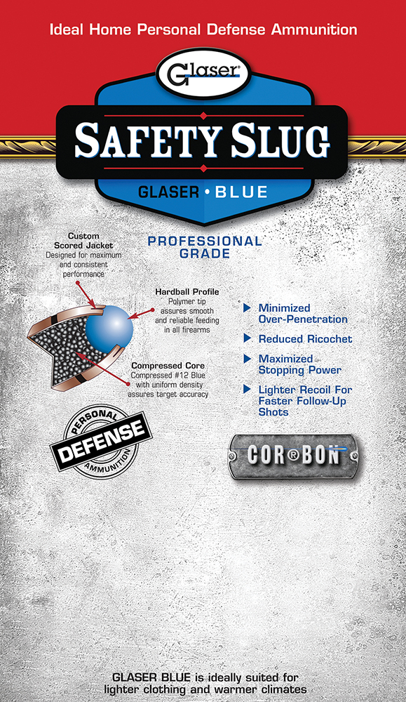 Cor-Bon 03000 Safety Slug Blue 40S&W Round Nose 115GR 6Pk