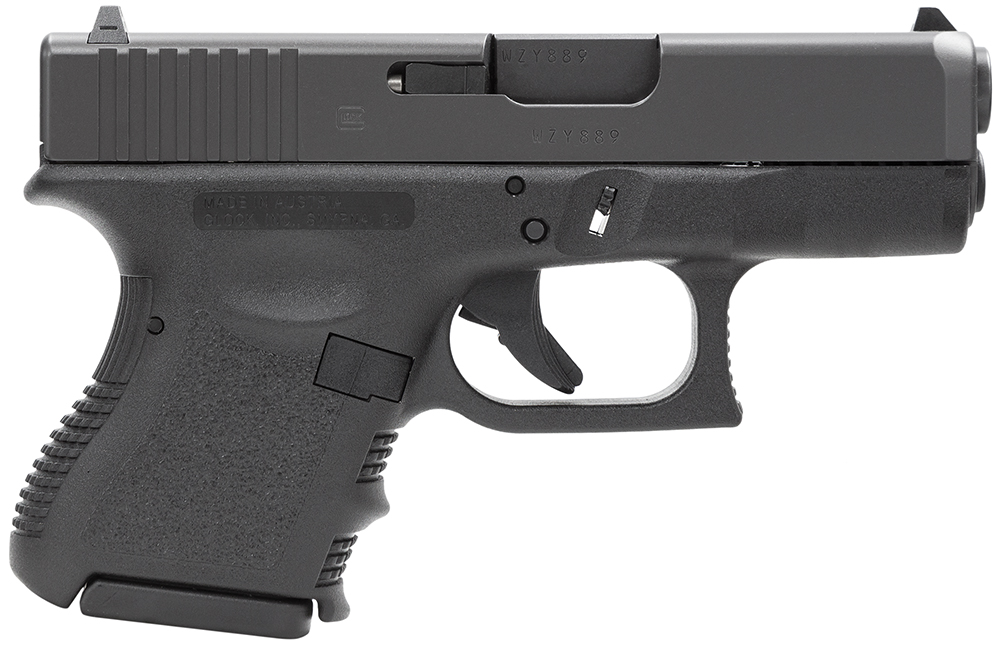 Glock PI3350201 G33 Standard 357 Sig 3.46″ 9+1 Fixed Sights Poly Grip/Frame Blk