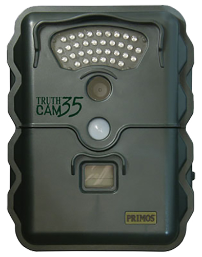 Primos 63010 Truth Cam Trail Camera 3MP 35 LED Black