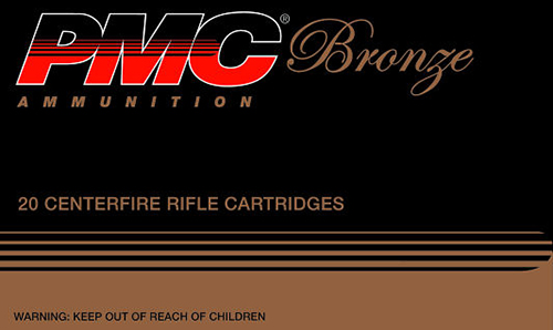 PMC 308B Bronze 308 Winchester/7.62 NATO Full Metal Jacket 147 GR 20Box (In Store Pickup Only)