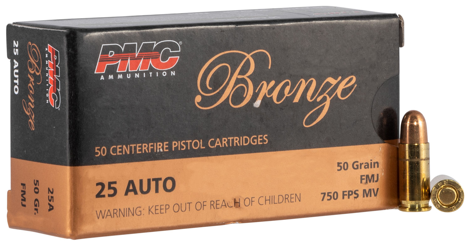 PMC 40E Bronze 40 Smith & Wesson Full Metal Jacket Flat Point 180 GR 50Box/20Cs
