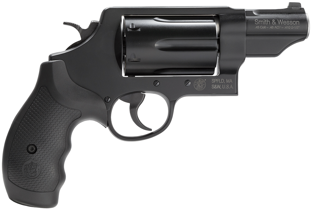 "Smith and Wesson GoverNor .45 ACP/.45 LC/.410ga 2.75"" Barrel Black 6rd Synthetic Grip with Night Sight"