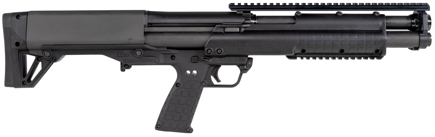Kel-Tec KSG KSG Pump 12 ga 18.5″ 3″ Black Synthetic Black Finish