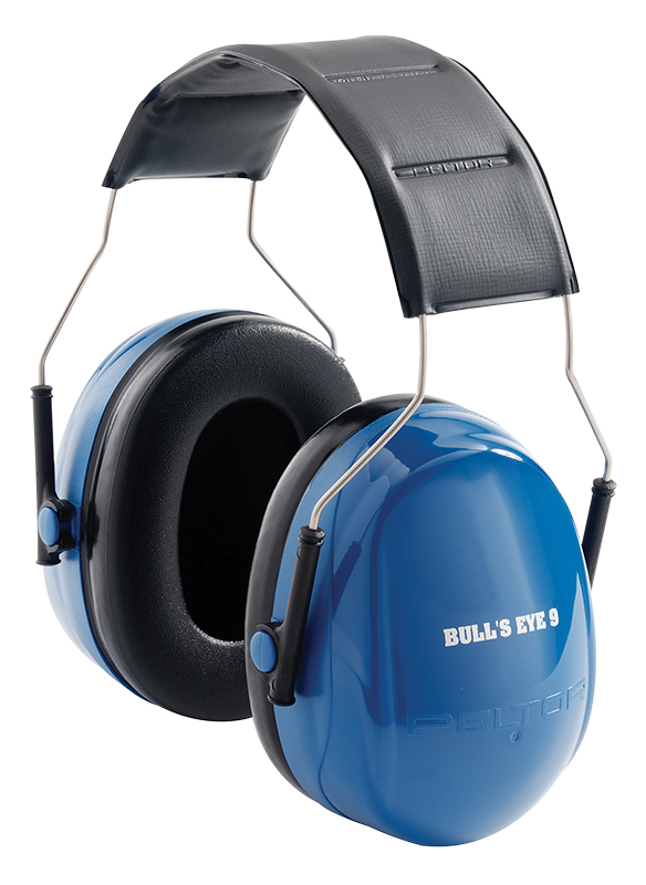 3M Peltor 97007 Bullseye Electronic Hearing Protection Muffs Black/Blue