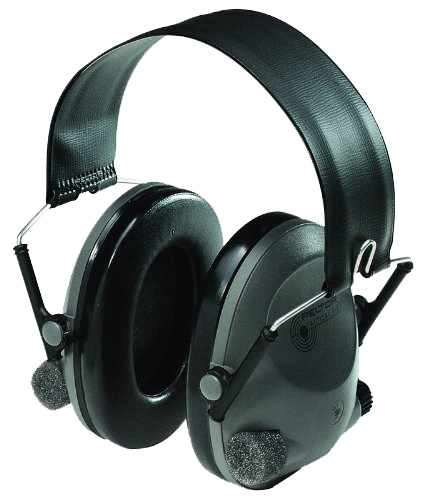 3M Peltor 97044 Tactical Electronic Hearing Protection Muffs Black/Gray