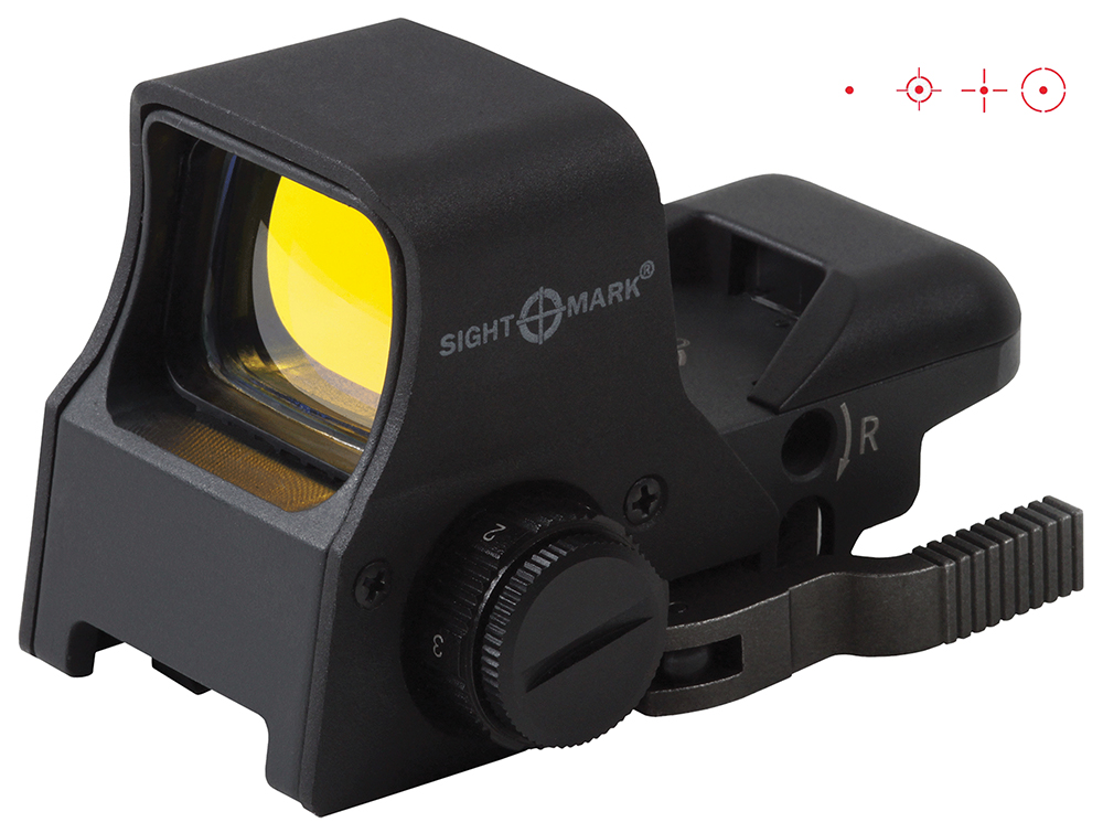 Sightmark SM14002 Ultra Shot Pro Series NV QD Infinite Eye Relief  1 MOA Black