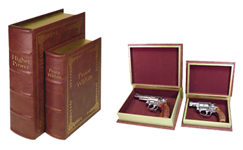 Peace Keeper DB2 Diversion Book Set Concealment Brown