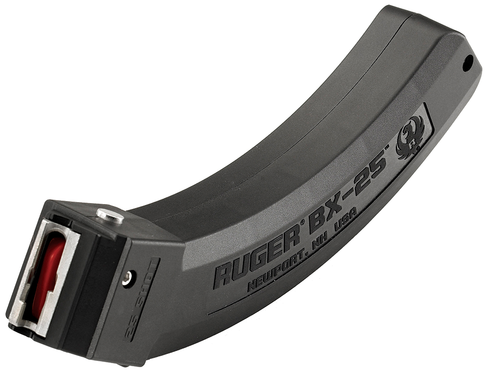 Ruger 90361 Ruger 10/22 BX-25 22 Long Rifle 25 rd Black Finish