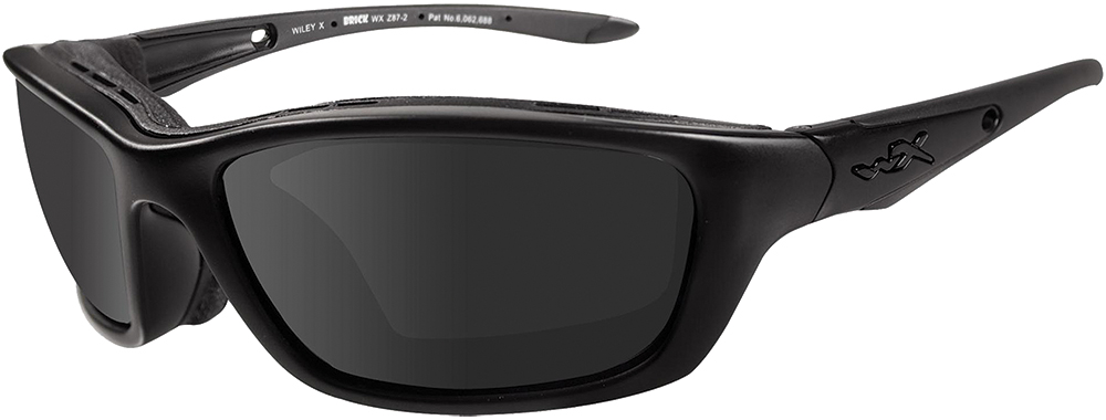 Wiley X Eyewear 854 Brick Safety Glasses Matte Black