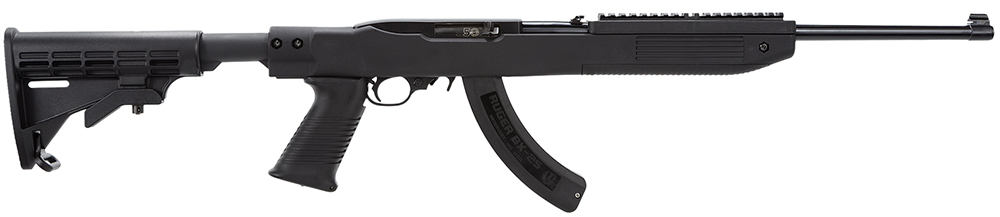 "Ruger 10/22 .22 LR 18.5"" Barrel Tapco Black"