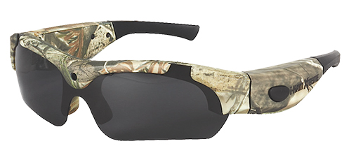 Hunters Specialties 50028 i-Kam Xtreme Video Camera Glasses 4GB 736x480 RTAP