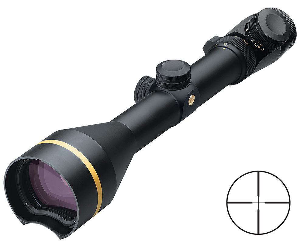 Leupold67415 VX-3 3.5-10x50mmObj 29.8-11ft@100yds FOV 30mm Tube Blk Illum Duplex