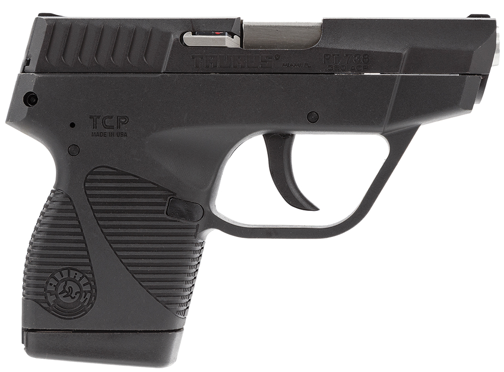 "Taurus 1738031FS 738 TCP DAO 380 ACP 2.84"" 6+1 No Case/1 Mag Poly Grip Blued"