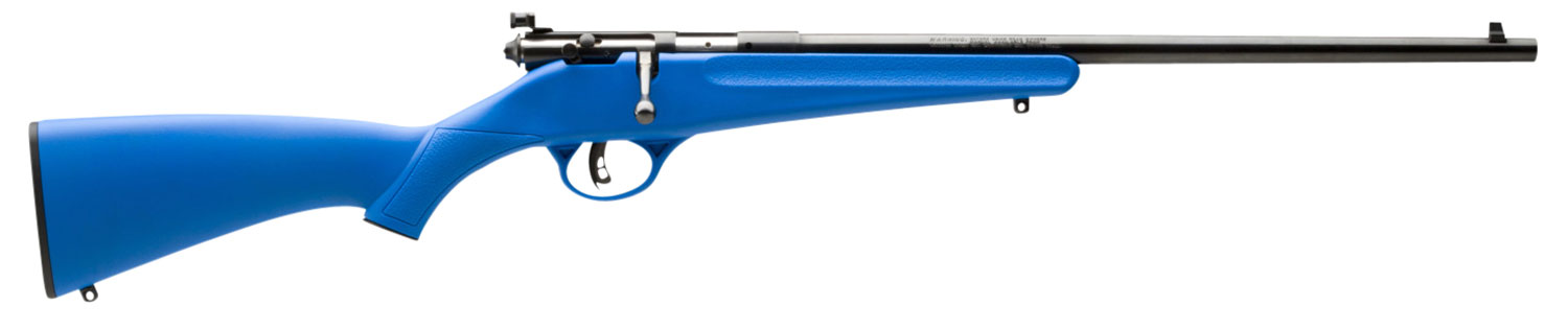 Savage 13785 Rascal Bolt 22 Long Rifle Synthetic Blue
