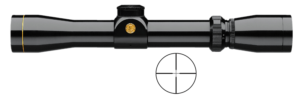 Leupold 113872 VX-1 2-7x 28mm Obj 46.2 - 17.8ft @ 100yds FOV 1