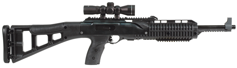 Hi-Point 995TS4XRGB Carbine SA 9mm 16.5″ 10+1 Syn Stk Blk w/4x RGB Scope