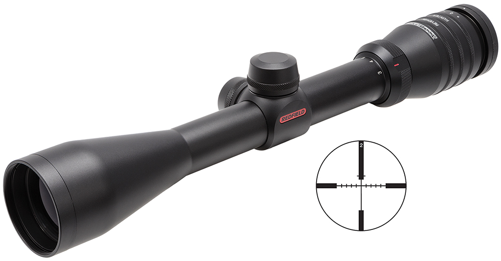 Redfield 115210 3-9x 42mm Obj 32.9-11.4ft@100yds FOV 1