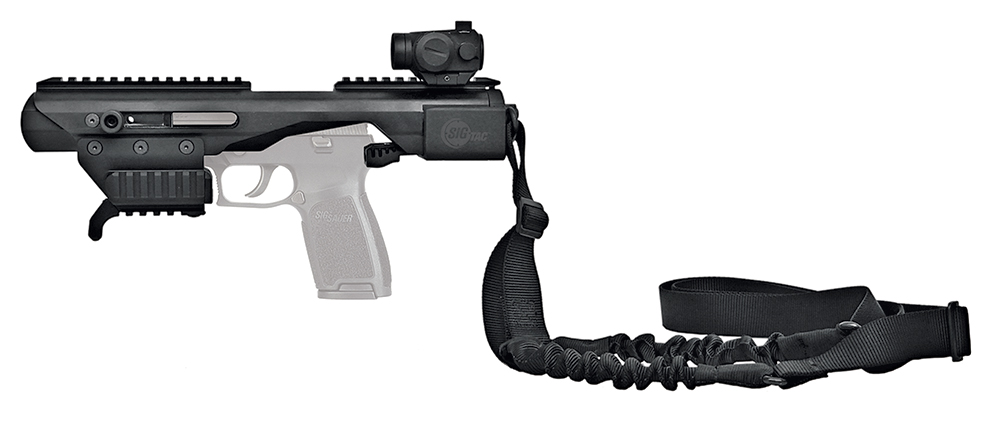 SIGTac ACPL ACP-L Adaptive Carbine Enhanced w/Red Dot & Bungee Sling Alum Blk