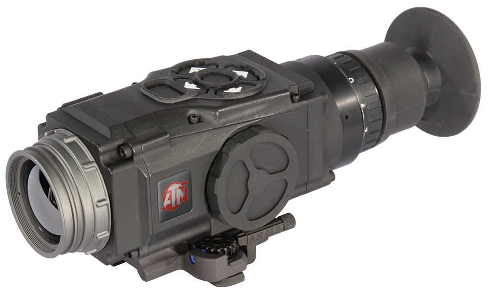 ATN TIWSMT321C Thor 320 Thermal Gun Sight 1x 30Hz Black QD