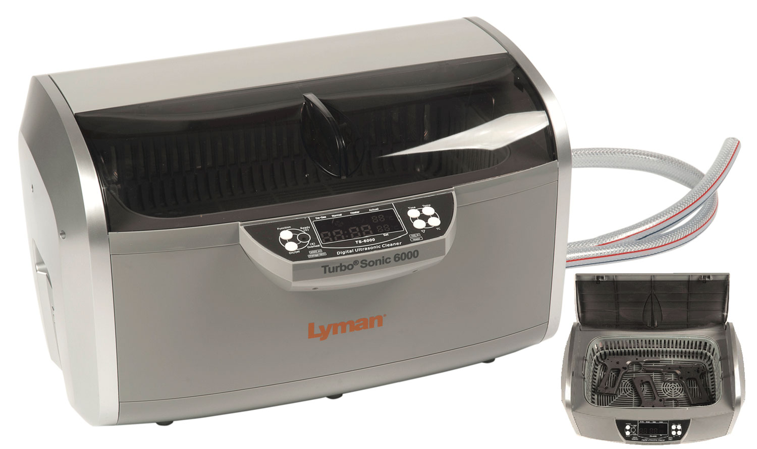 Lyman 7631725 Turbo Sonic 6000 Ultrasonic Case Cleaner 115V 6.3qt 15lbs