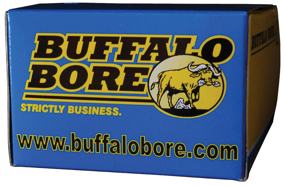 Buffalo Bore Ammo 31A/20 Handgun 45 Auto Rimmed Hard Cast FN 255 GR 20Box/12Cs