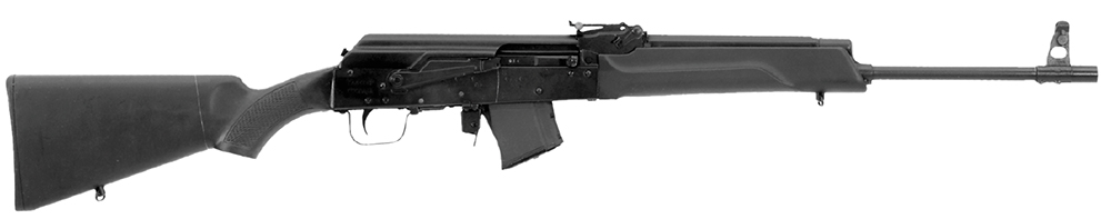 "RWC IZ137 Saiga Semi-Auto 308Win/7.62NATO 16.3"" 8+1 AS Blk Syn Stk Blk"