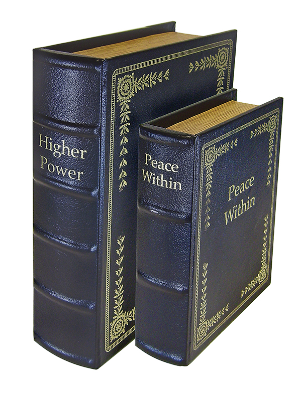 Peace Keeper DBBLK Diversion Book Set Concealment Black