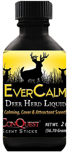 Conquest Scents 1207 Ever Calm Scent Liquid Deer Herd Bottle 2.5 oz