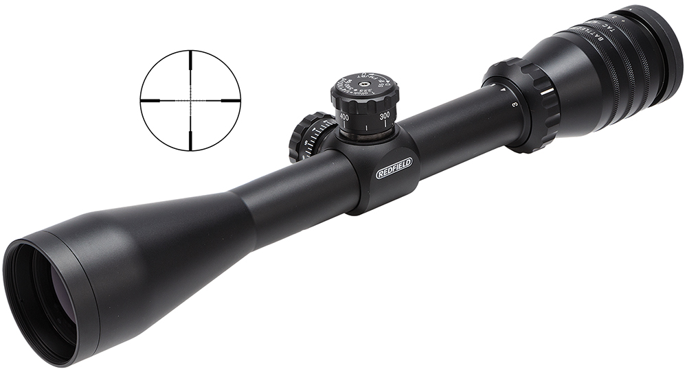 Redfield 117851 Battlezone 3-9x 42mm MT Tac-MOA 32.9-11.4ft FOV 1