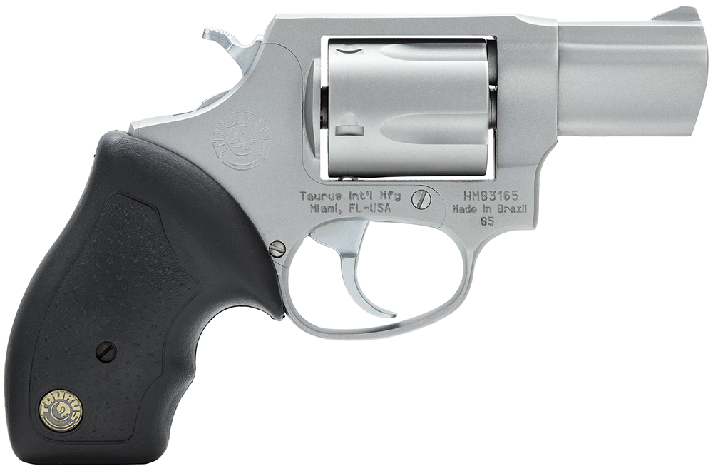 "Taurus 85 .38 Special 2"" Barrel Fixed Sights Stainless Steel 5rd Rubber Grip 2850029FS"