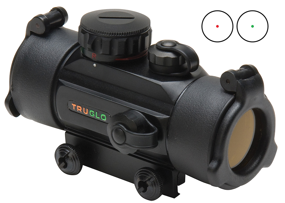Truglo TG8030DB Red Dot 30mm Red/Grn 5MOA Blk Unlimited Eye Relief