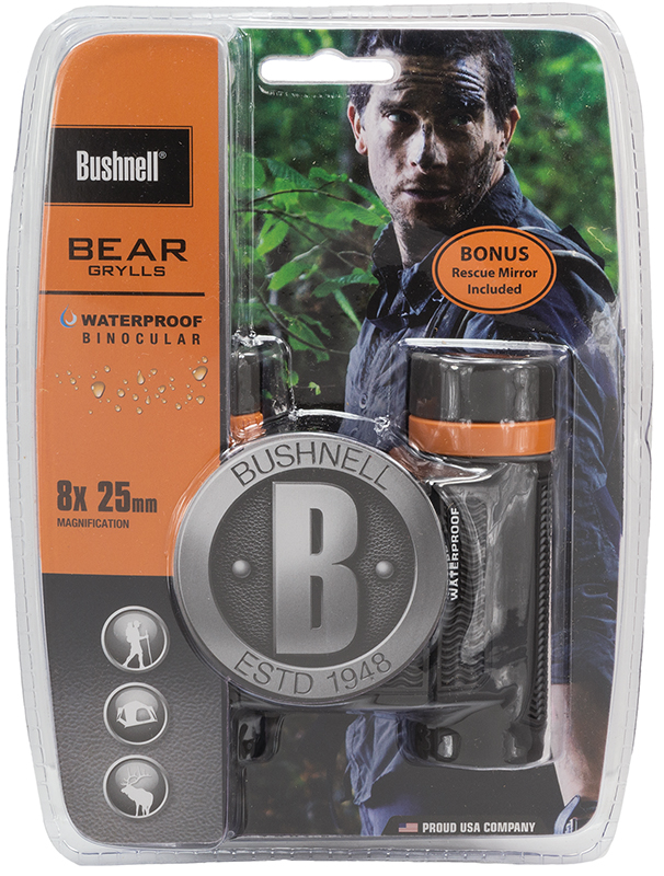 Bushnell 180825C Bear Grylls 8x 25mm  FOV  Eye Relief