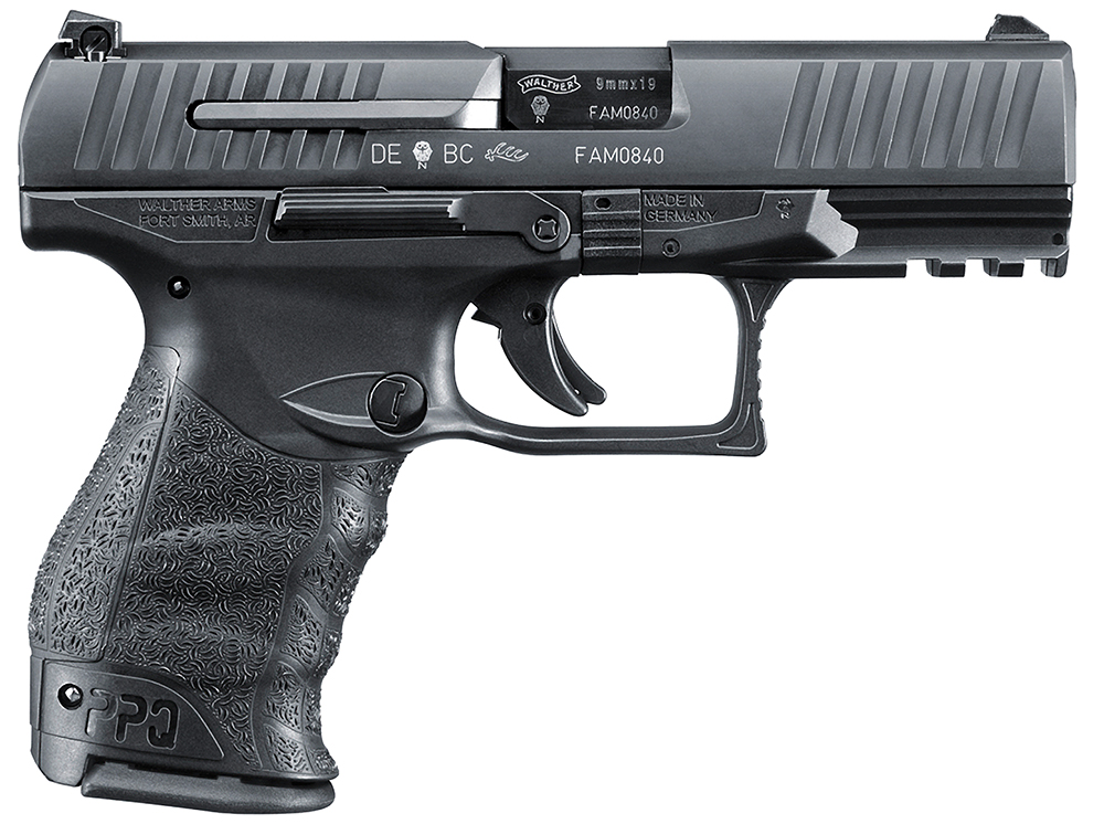 "Walther PPQ M2 9mm 4"" Barrel 15 Round Black 2796066"