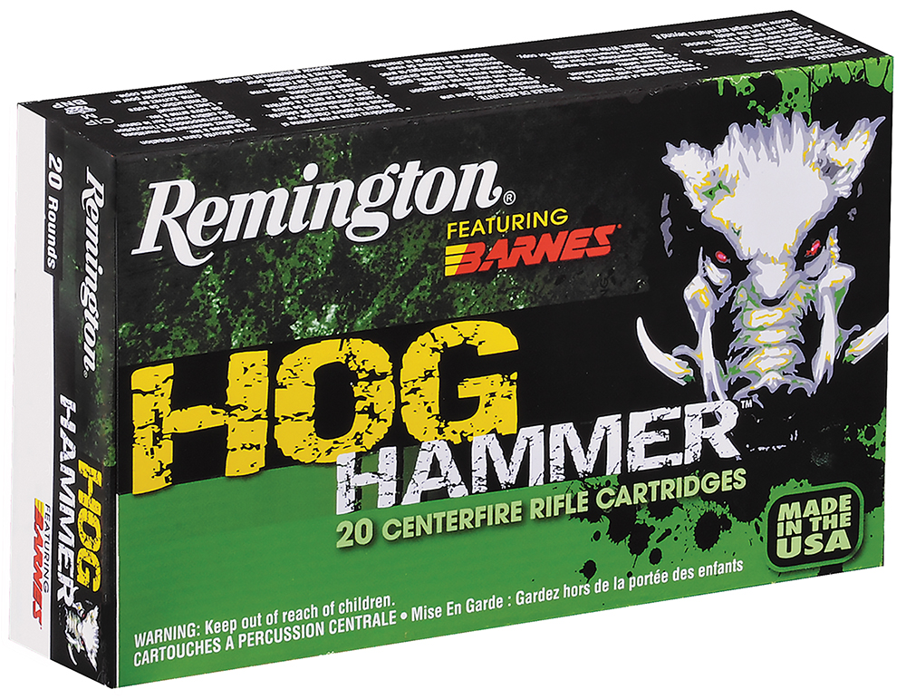 Remington PHH308W2 Hog Hammer 308 Winchester/7.62 NATO TSX 168GR 20Box/10Case