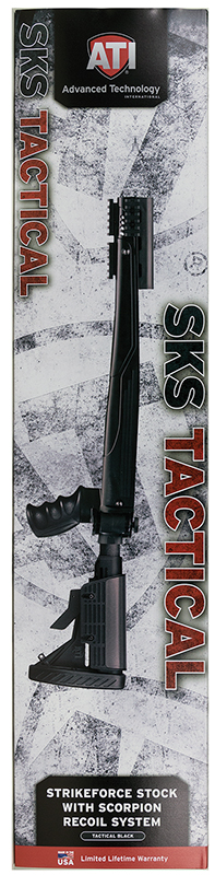 ATI A2101232 SKS 6 Position Adjustable Side Folding Stock Black