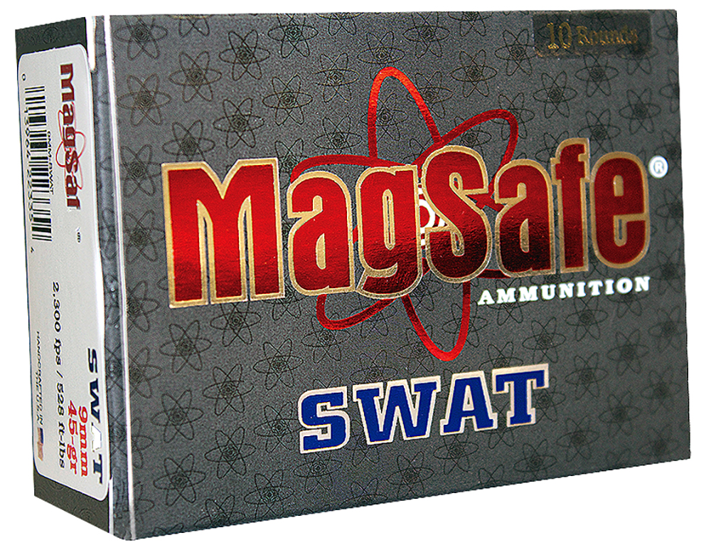 Magsafe 9MMSWAT Handgun SWAT 9mm 45GR  Pre-Fragmented Bullet 10 Pack
